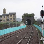 トマソン(無用トンネル) 徳島県海部駅付近